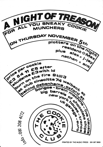 Oldschool Rave Flyer Archive 1980s 2000s Rave Preservation Project