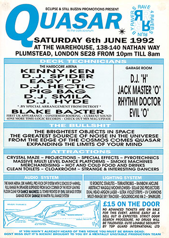 Oldschool Rave Flyer Archive 1980's-2000's  Rave